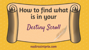 Destiny Scroll